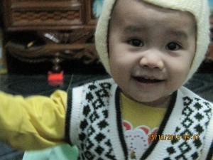 Em bé Phú Duy