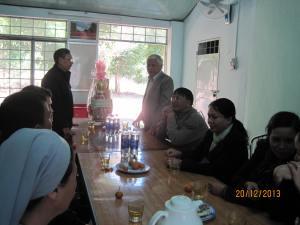 Ủy Ban ND Thành Phố thăm Chúc mừng Giáng Sinh