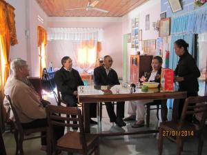 BCV Miền thăm Cha Quản Hạt Miền KT& anh em Miền