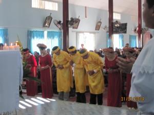 Thánh Lễ sáng Mồng một tết 2014