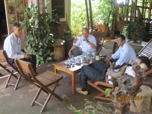 BCV Võ Lâm thăm bổn mạng Cha Minh