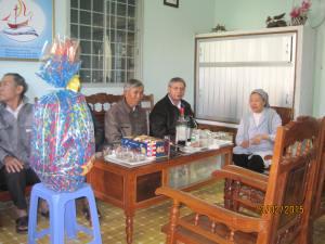 BCV thăm chúc tết các Sơ Phaolo