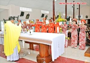 Thánh Lễ M.Một tết 2015. GX Võ Lâm