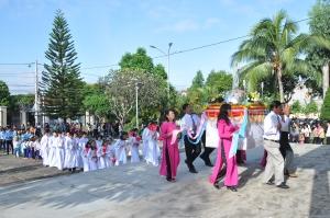 GX Võ Lâm Kiệu Đức Mẹ. Lễ Đức Mẹ Hồn Xác lên Trời CN 16.8.2015