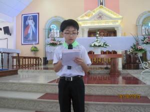 GX Võ Lâm phát vở học sinh nghèo 16/8/2015