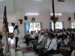 Khai giảng năm học giáo lý 2015-2016
